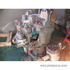 hitachi zx210 main pump
