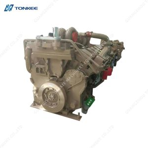 genuine new KTA38 KTA-38 complete engine assy excavator PC3000 PC3000-6 diesel engine assembly for KOMATUS