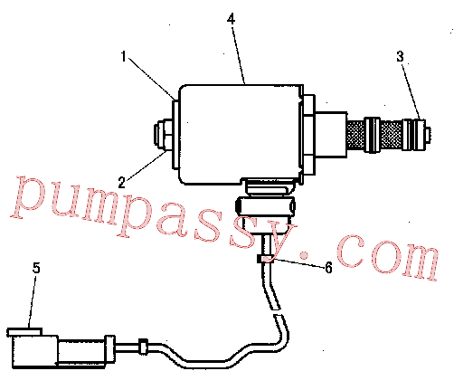 CAT 197-7701 for 320B Excavator(EXC) hydraulic system 152-8340 Assembly