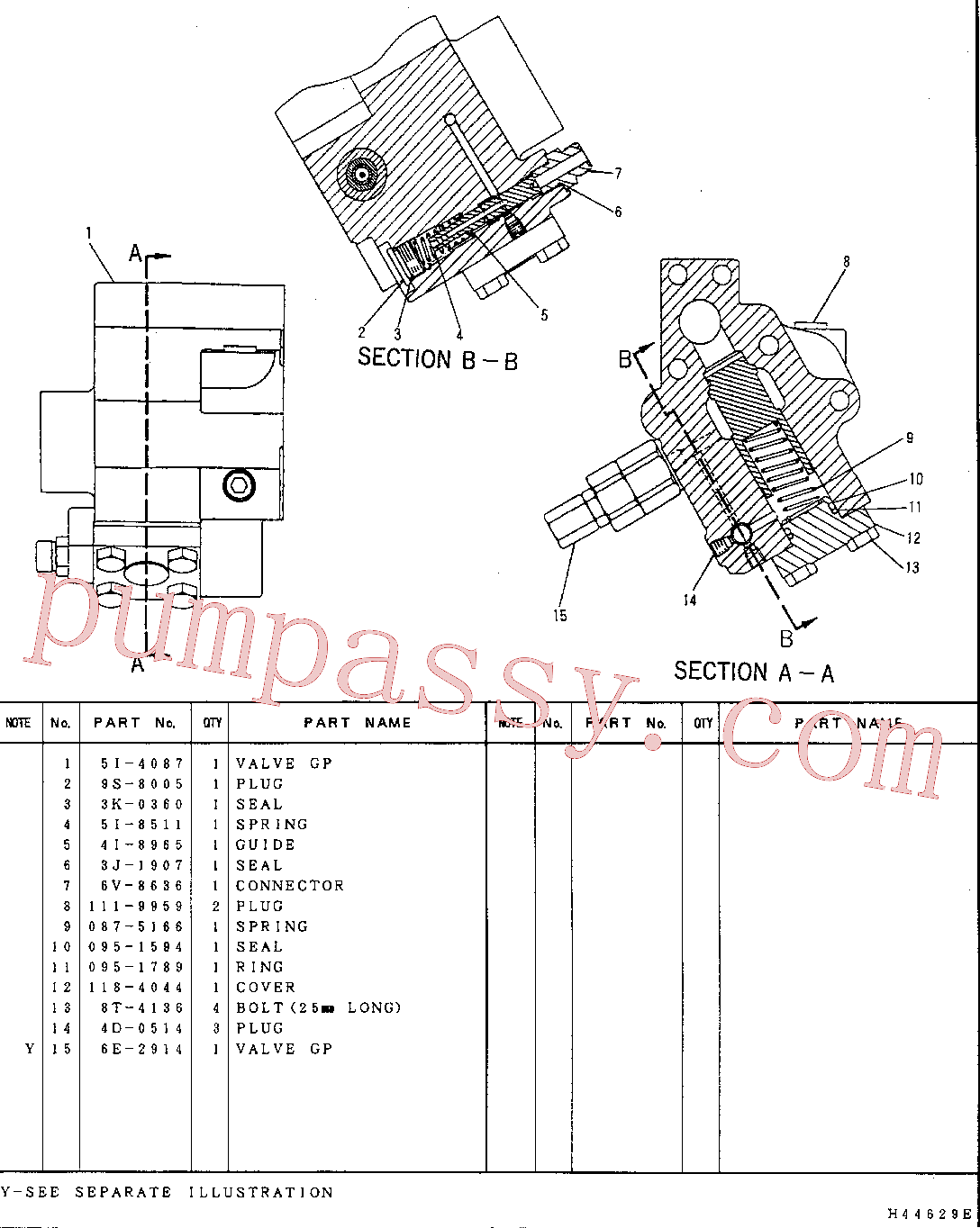 CAT 095-1789 for 336D2 L Excavator(EXC) hydraulic system 5I-4086 Assembly