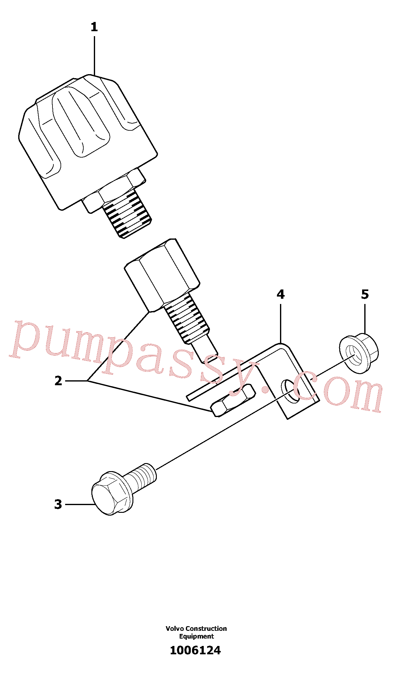 PJ4750591 for Volvo Breather(1006124 assembly)