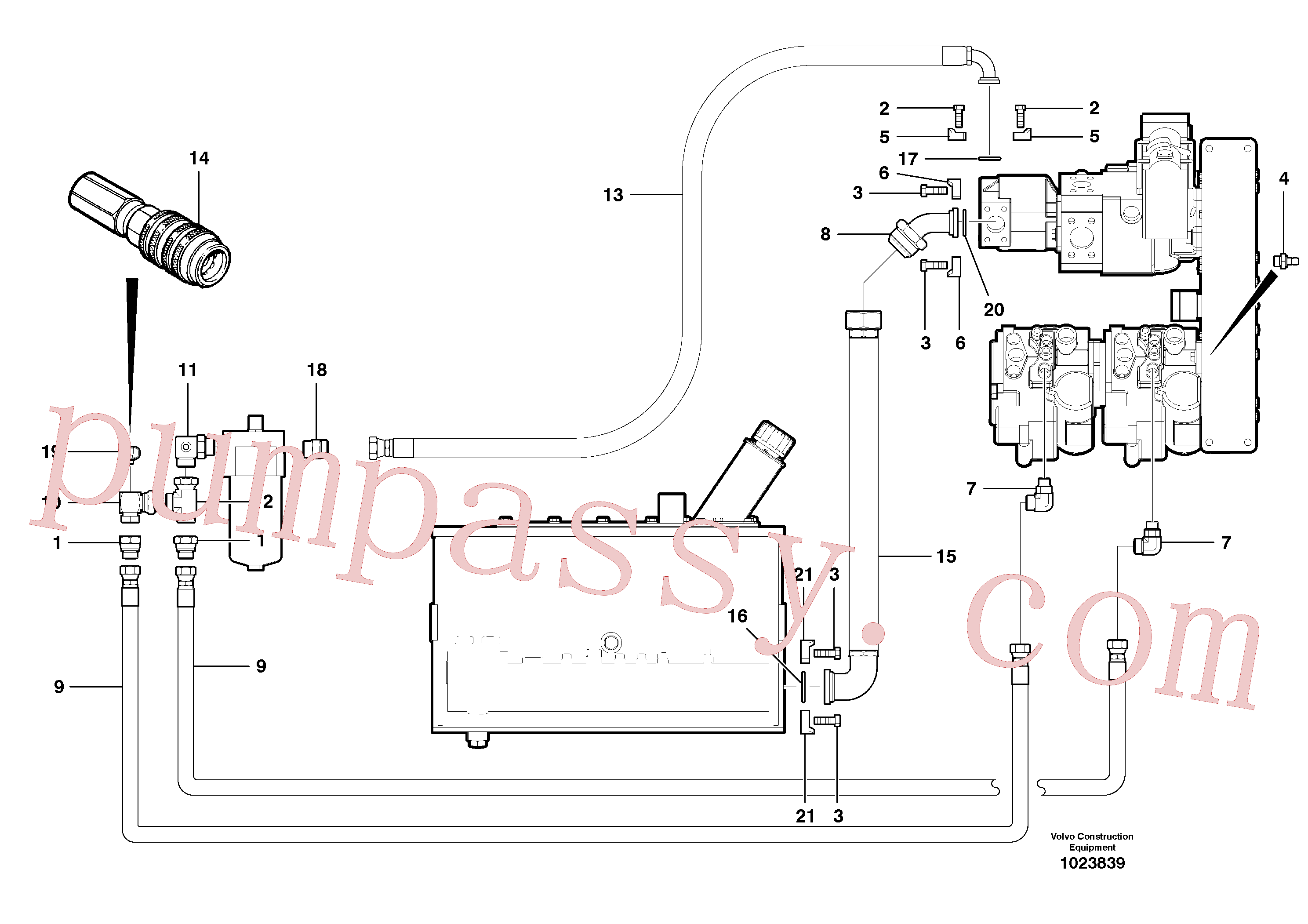 CH127A-1012 for Volvo Charge circuit - AWD(1023839 assembly)