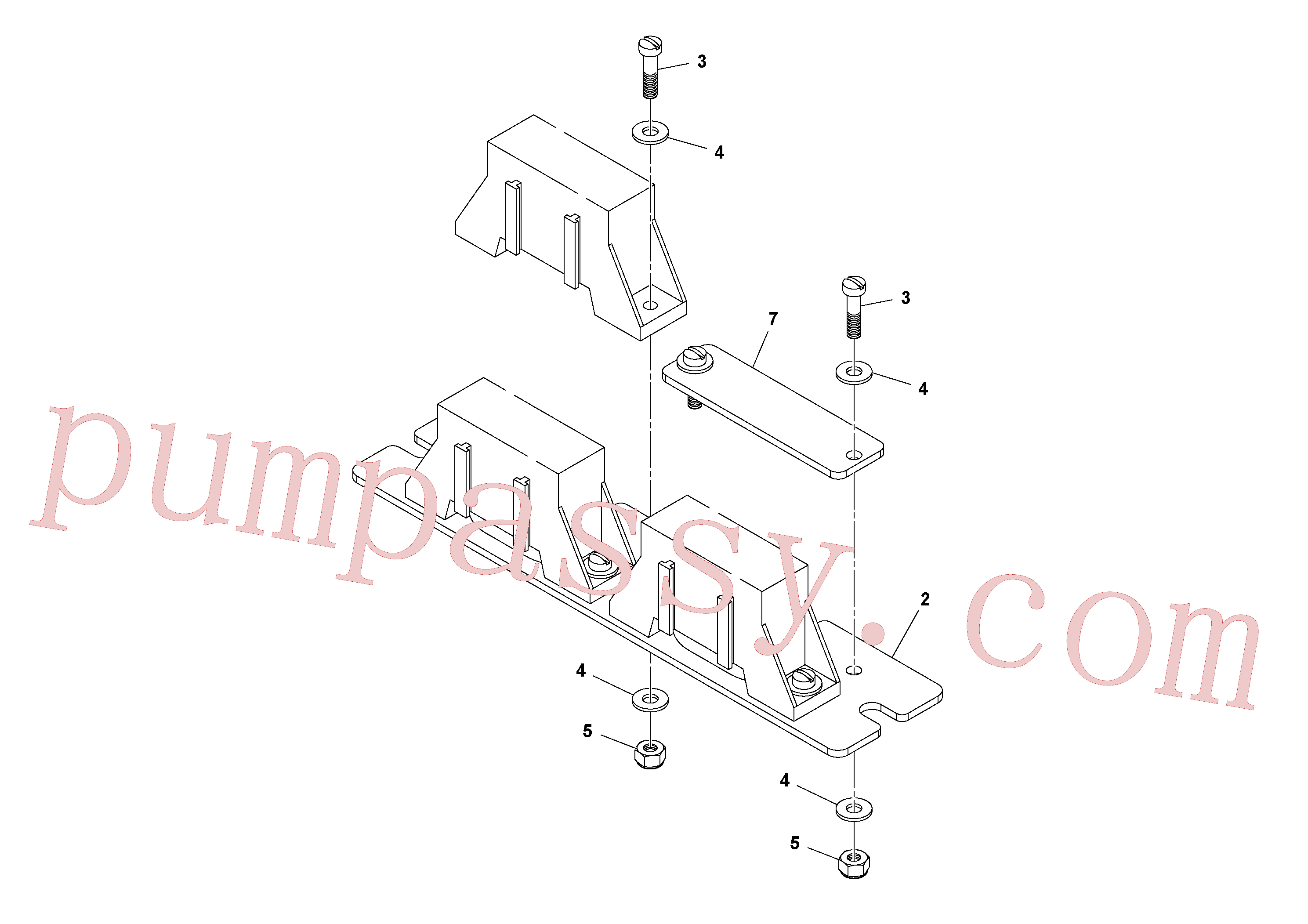 RM95922134 for Volvo Fuse Block Assembly(1038989 assembly)