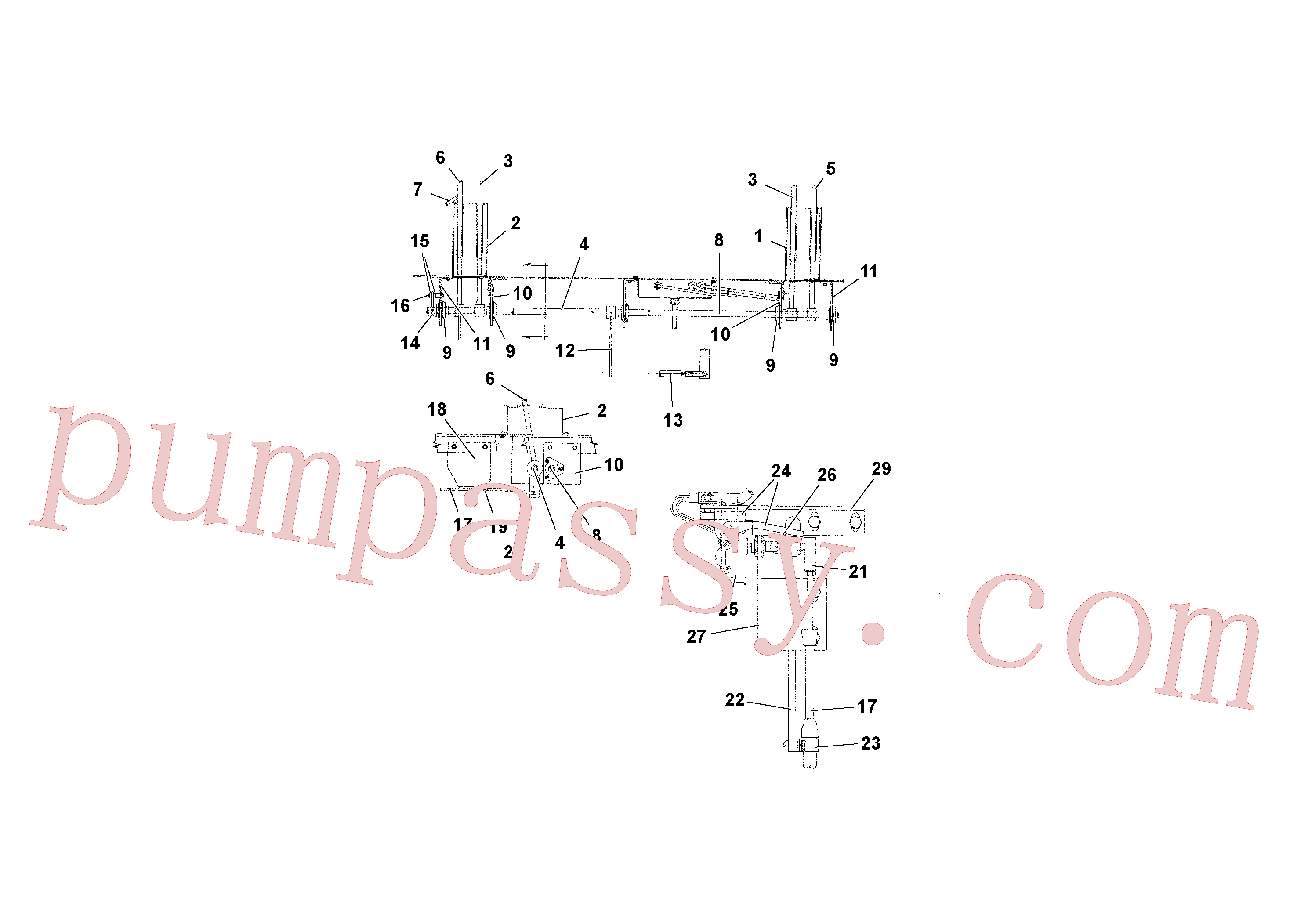 RM20936175 for Volvo Travel and Conveyor Controls(1039296 assembly)