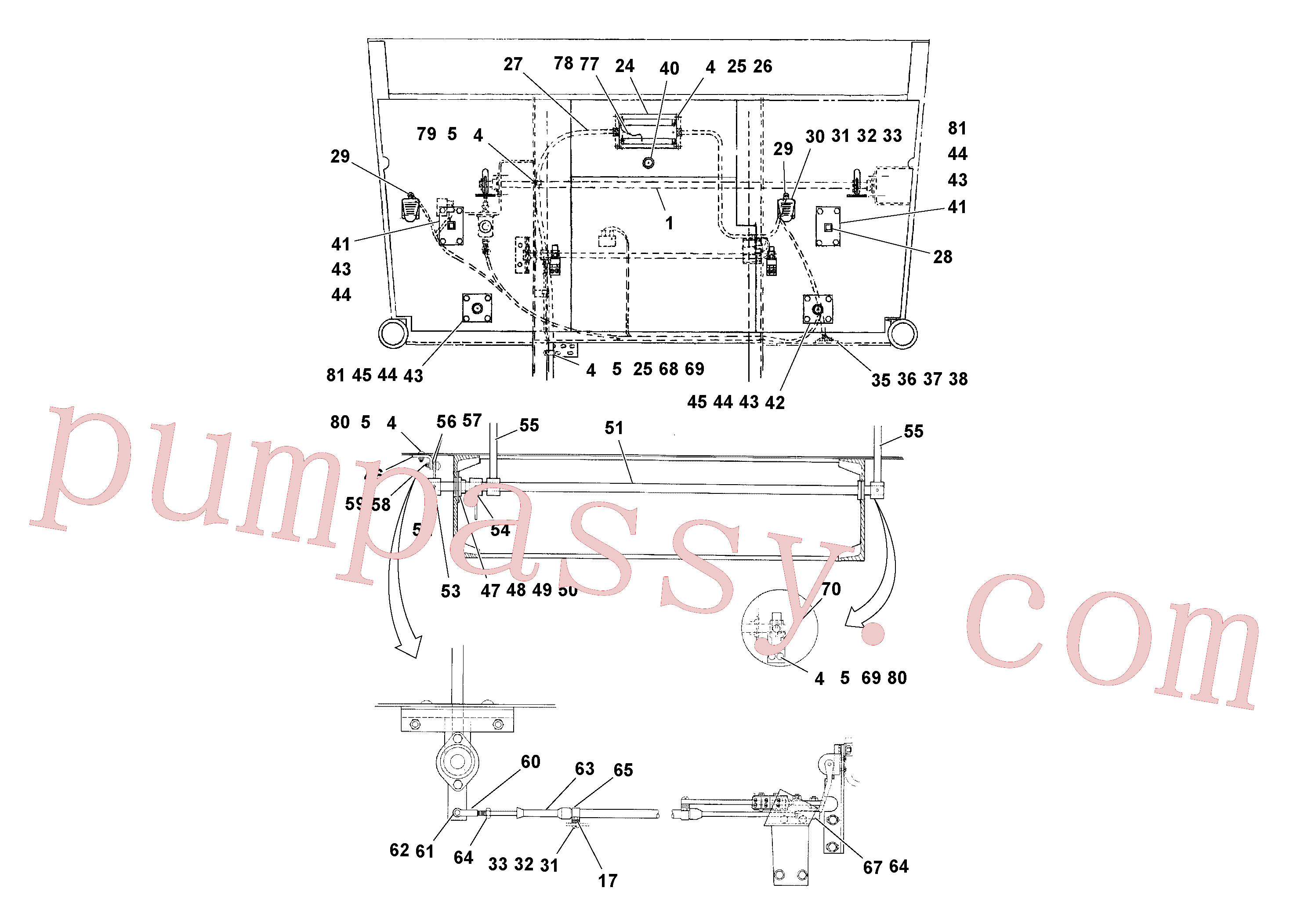 RM95922134 for Volvo Control Installation(1040059 assembly)