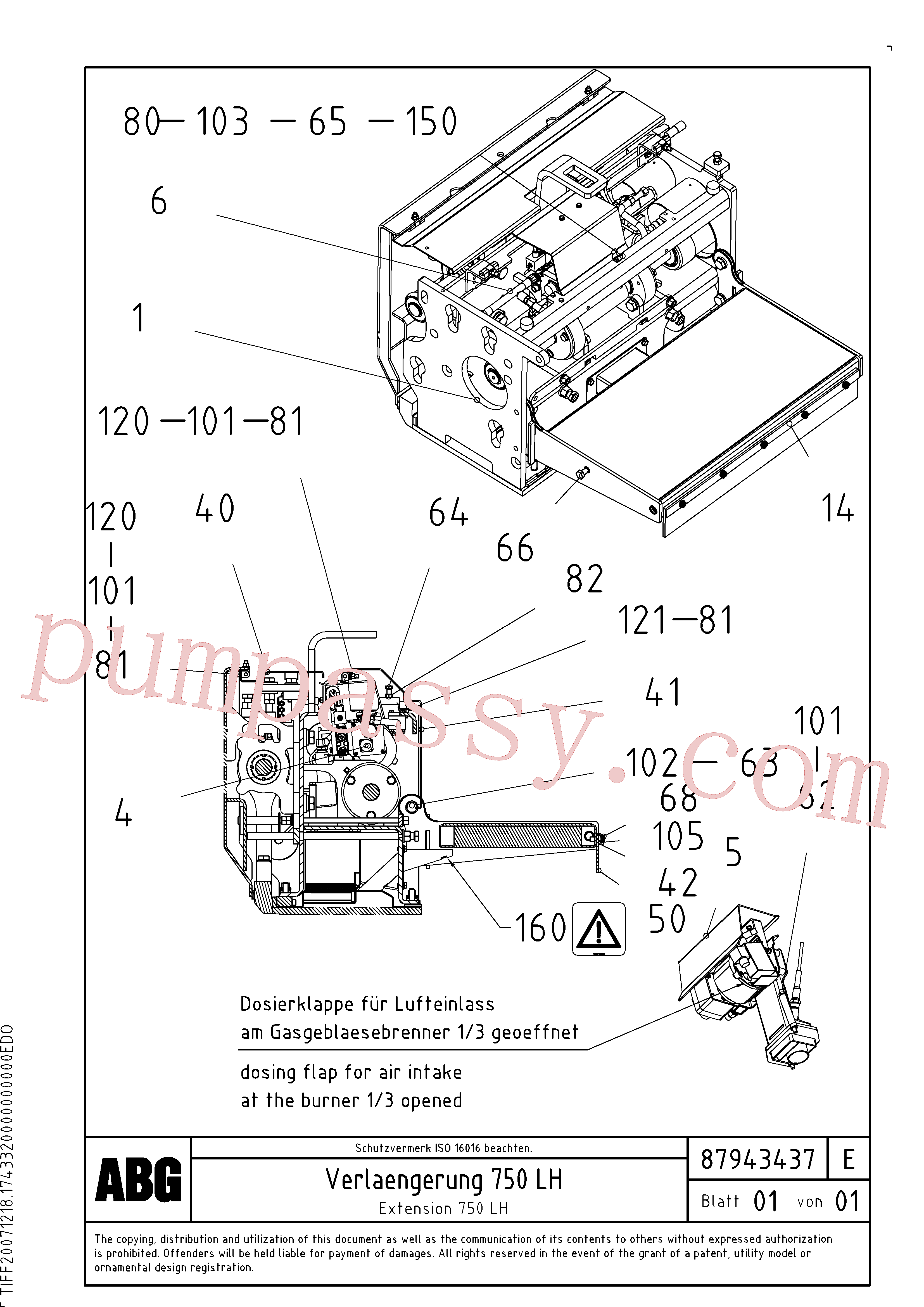RM87969887 for Volvo Extension set(1047981 assembly)