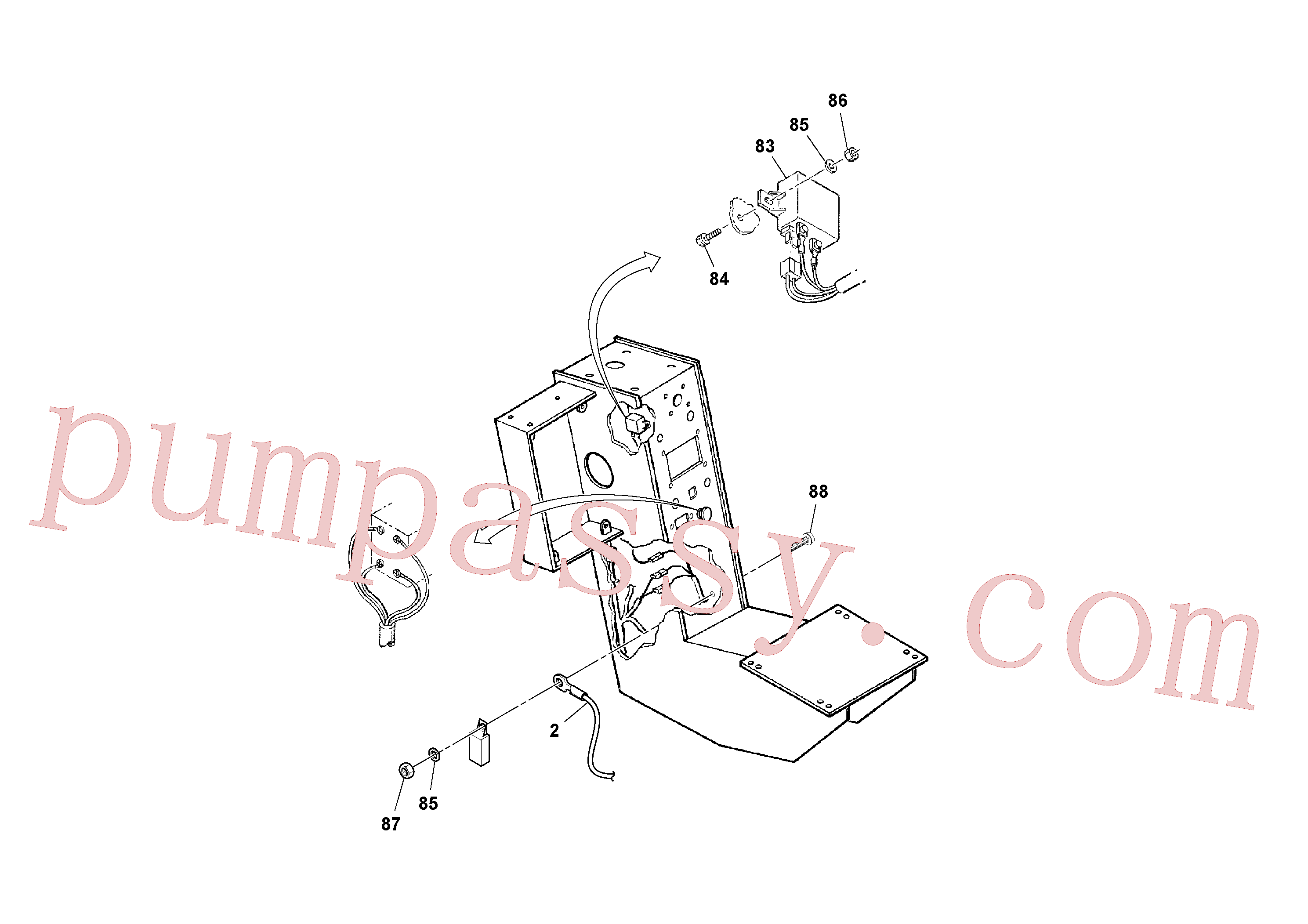 RM95922134 for Volvo Console Assembly(1052528 assembly)