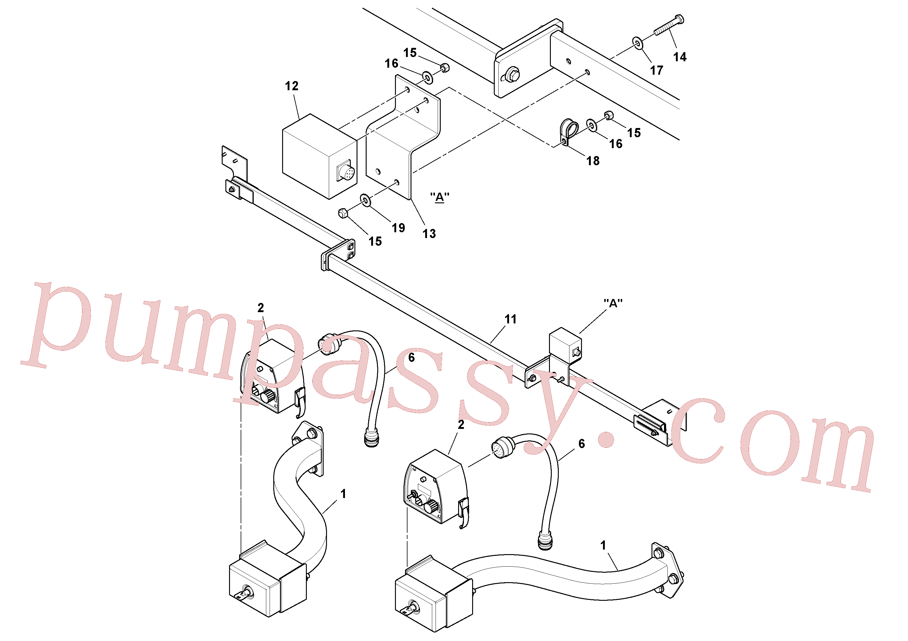 RM20163234 for Volvo Blaw Kontrol Installation(1054589 assembly)