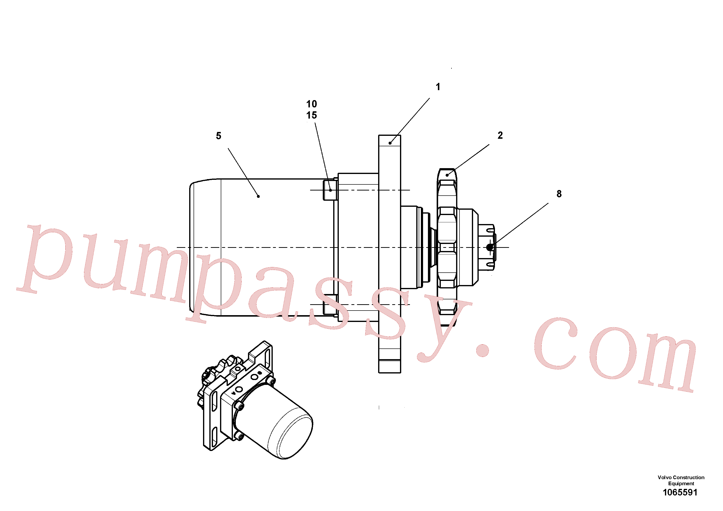 RM14272462 for Volvo Drive(1065591 assembly)